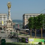 Der Hauptplatz der grten Stadt Obersterreichs: Linz